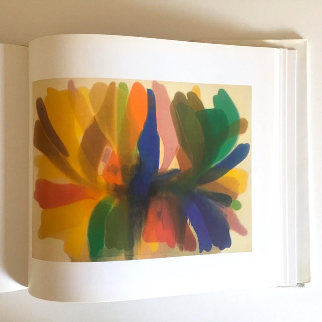 """Various Artists Vintage 1st Edtn """"Morris Louis Moma"""" Collector's Abstract Expressionist Art Book, 1986 For Sale - Image 4 of 13"""