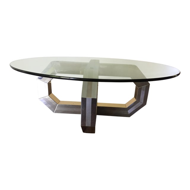 Vintage Paul Evans Style Coffee Table For Sale