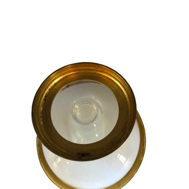 Ormolu Gilt Opaline Compote For Sale In Dallas - Image 6 of 7