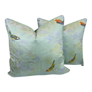 Heritage House Windsong Seafoam Pillows - A Pair
