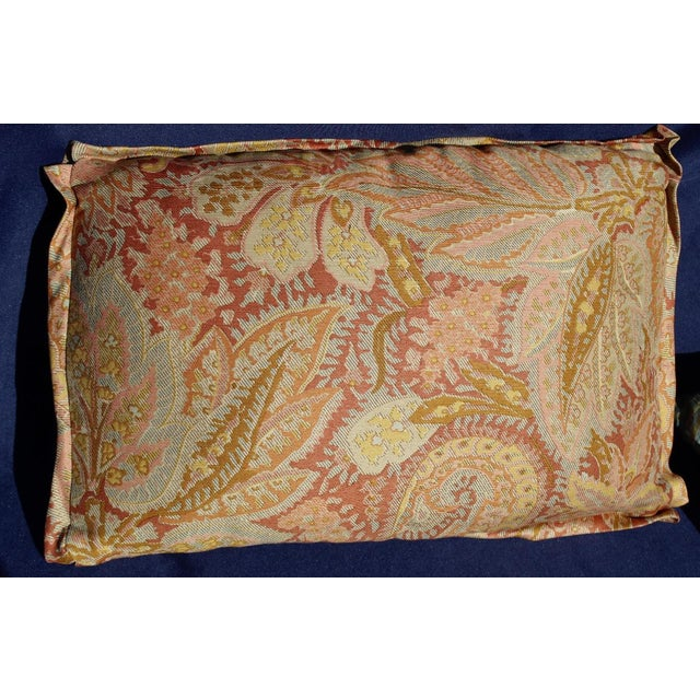 Pink Late 20 C. Set of 4 Down Filled Possible Fortuny Style For Sale - Image 8 of 8