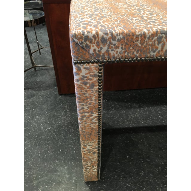 Wesley Hall Fabric Covered Console Table - Image 6 of 8
