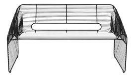 Image of Iron Outdoor Sofas