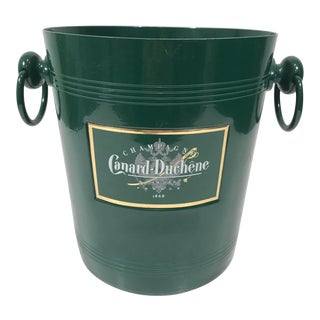 Green French Bistro Champagne Bucket For Sale