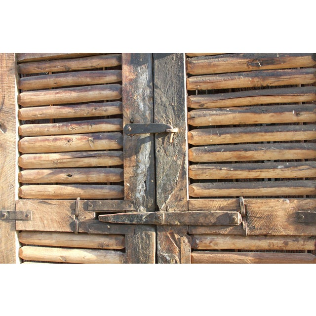 Antique 19th Century Hungarian Doors For Sale In Los Angeles - Image 6 of 9