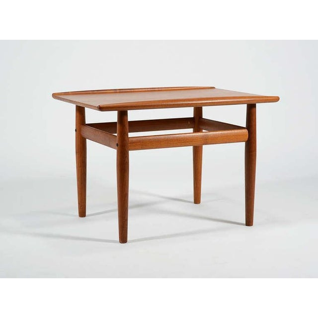 Teak Teak Side/ End Table by Greta Jalk For Sale - Image 7 of 8