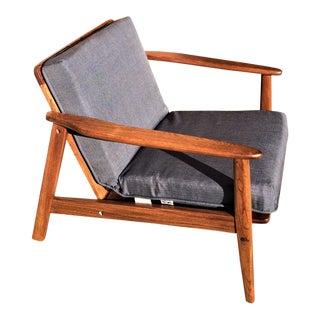 Restored Vintage Mid Century Modern Lounge Chair