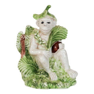 Italian Monkey Bookend For Sale