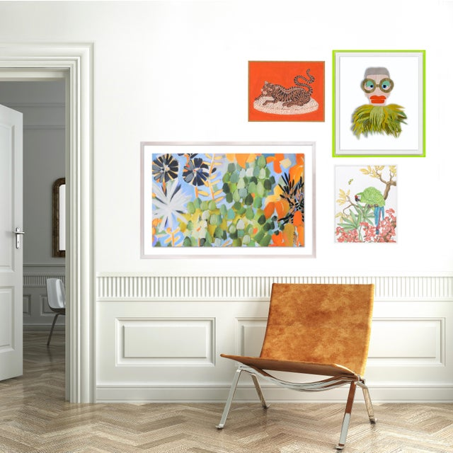 Abstract Bali Gallery Wall, Set of 4 For Sale - Image 3 of 8
