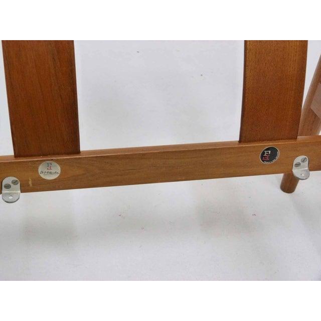 Danish Modern Grete Jalk Teak Lounge Chair For Sale - Image 10 of 10