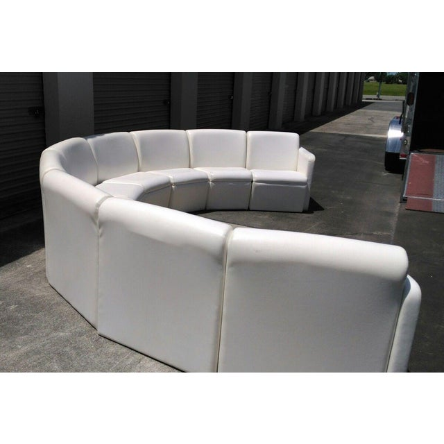 Mid-Century Modern Modern Semi-Circular Modular Sofa Sectional For Sale - Image 3 of 5