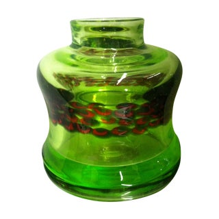 Modernist Italian Art Glass Vase - Antonio Da Ros For Sale