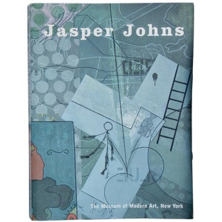 Jasper Johns MoMA Retrospective Book For Sale