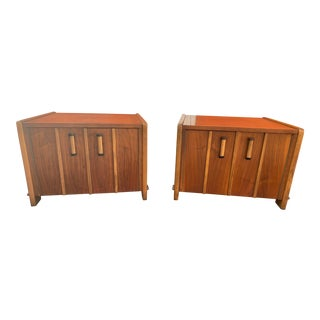 Vintage Mid-Century Modern Altavista Lane End Tables - a Pair For Sale