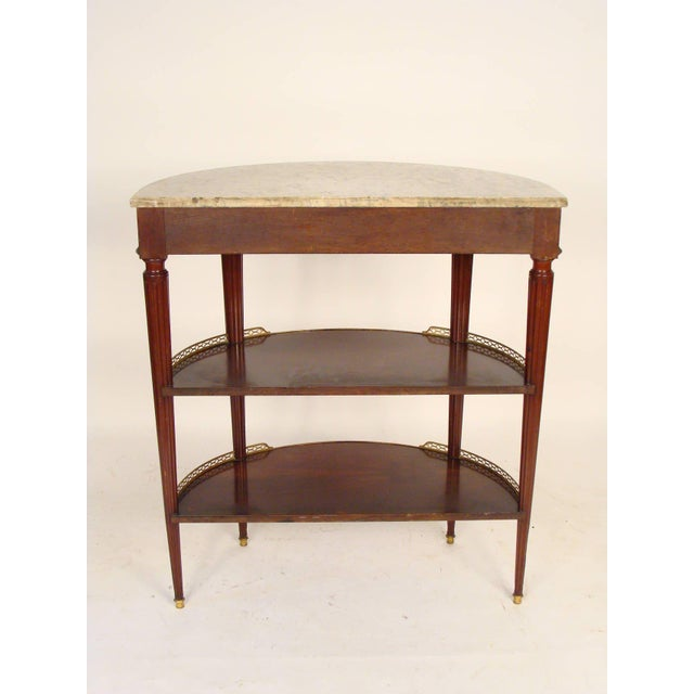 Louis XVI Style Console Table For Sale - Image 4 of 11