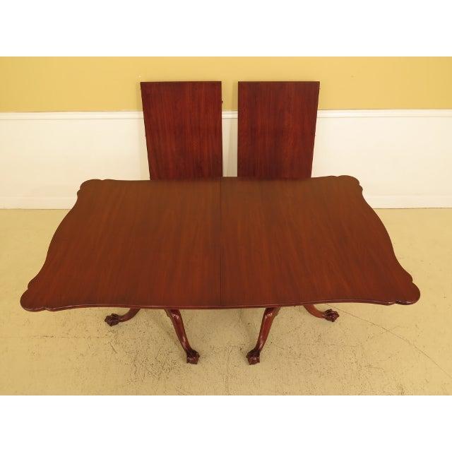 Henkel Harris Cherry Dining Room Table W. Claw Feet