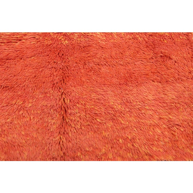 Berber Tribes of Morocco Moroccan Contemporary Rug Inspired by Paul Klee - 07'01 X 09'09 For Sale - Image 4 of 10