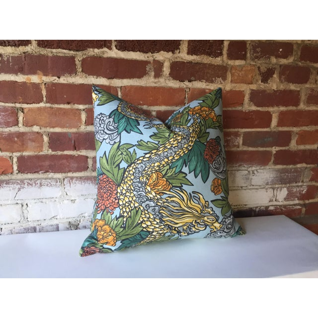 Ming Dragon Pillow Cover - Image 4 of 4