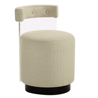 Caracole Modern Where's Ken Beige Accent Chair For Sale