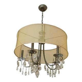 Crystorama Five Light Chandelier For Sale