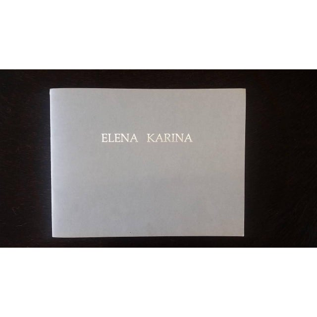 1960s Monumental Early Elena Karina Vessel For Sale - Image 9 of 11