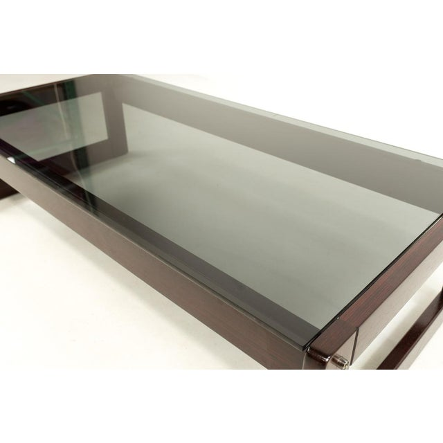 Rosewood Percival Lafer Brazillian Rosewood Coffee Table For Sale - Image 7 of 9