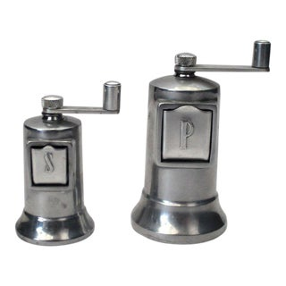 Perfex Adjustable Salt & Pepper Mills