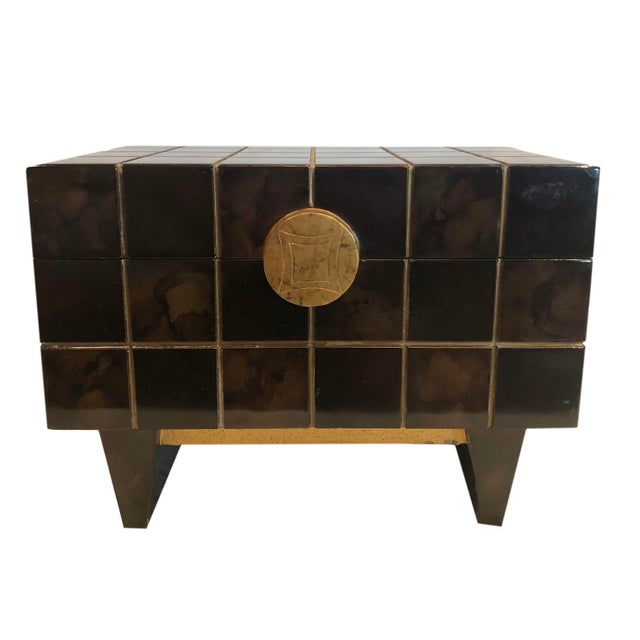 1970s Maitland Smith Mid Century Box For Sale In Tampa - Image 6 of 10