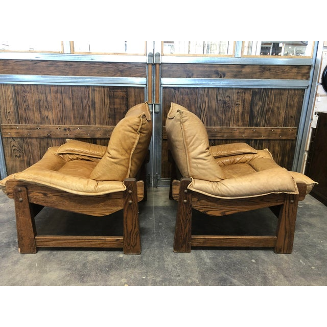 1970s 1970's Swedish Lounge Chairs For Sale - Image 5 of 7