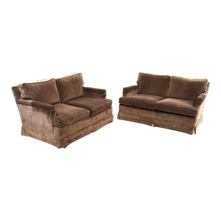 Vintage Highland House Hickory Loveseats - A Pair For Sale