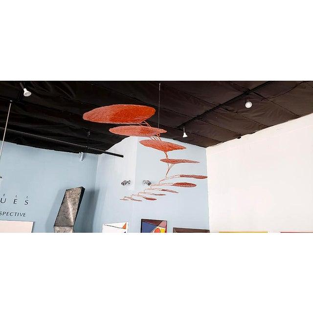 "Calder-Esque ""Petal"" Mobile by Artist Scott Donadio For Sale - Image 4 of 6"