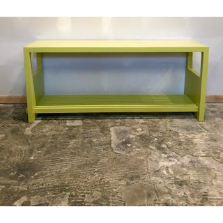Citrus Lacquered Console Table Preview