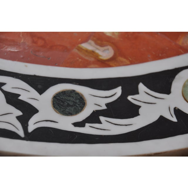 Vintage Pietra Dura Mosaic Side Table - Image 7 of 8