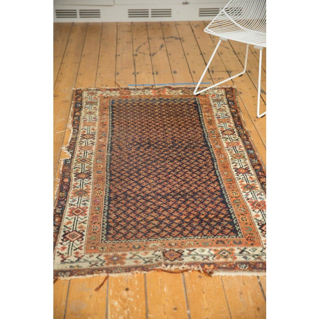 "Islamic Vintage Hamadan Rug - 3'7"" X 6' For Sale - Image 3 of 12"