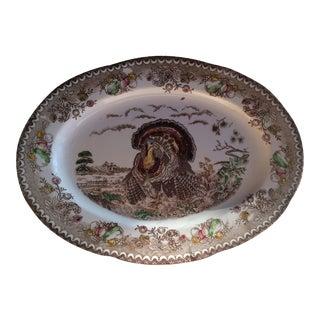 Vintage Turkey Platter For Sale