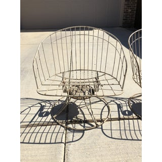 Vintage Homecrest Wrought Iron Chairs - A Pair Preview