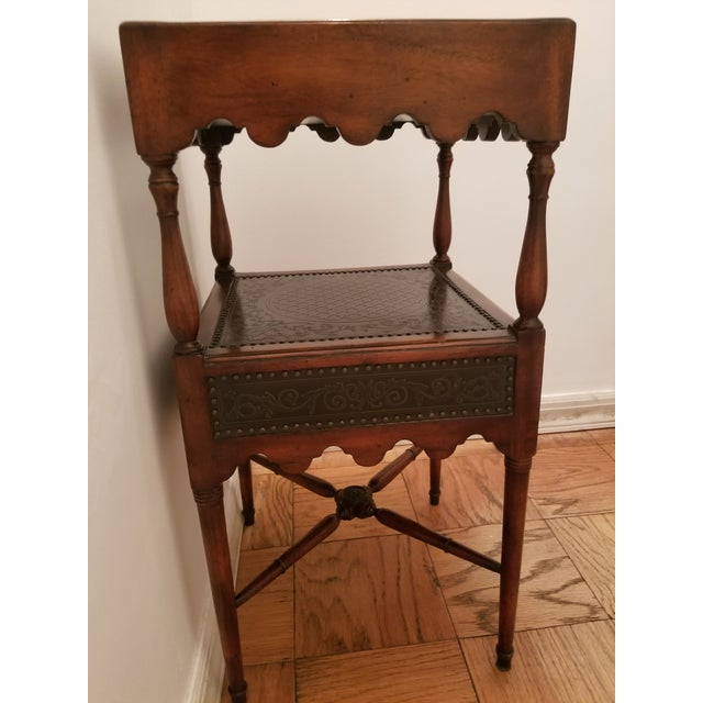 Purchased new from ABC Home. Currently used as hall table. This table has detail on all sides and can be used floating or...