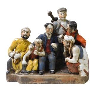 Chinese Cultural Revolution Ceramic Figurine For Sale