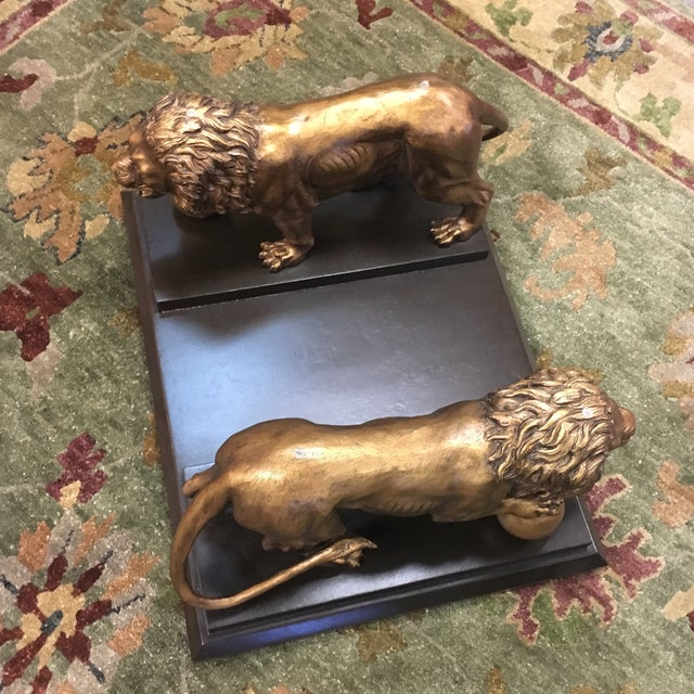 Medici Bronze Lions Cocktail Table - Image 7 of 10