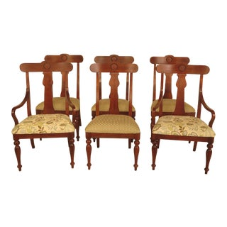 Ethan Allen British Classics Dining Chairs - Set of 6 For Sale