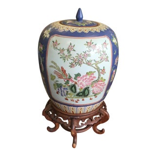Chinese Temple Jar For Sale