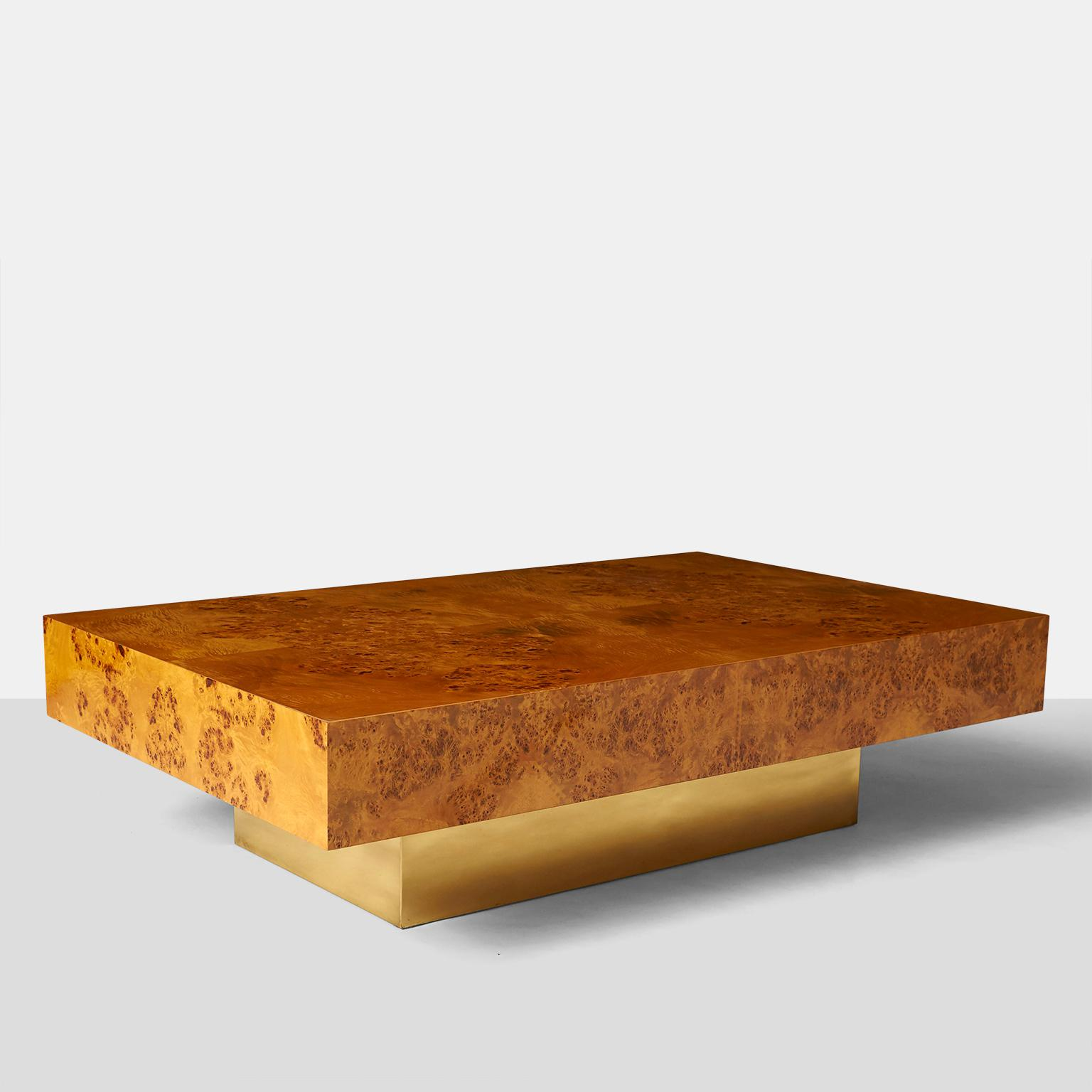 Attrayant A Large Rectangular Coffee Table Designed By Milo Baughman For Thayer  Coggin. The Body Of