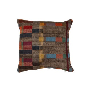 Indian Handwoven Pillow New Japanese Stripe Design For Sale