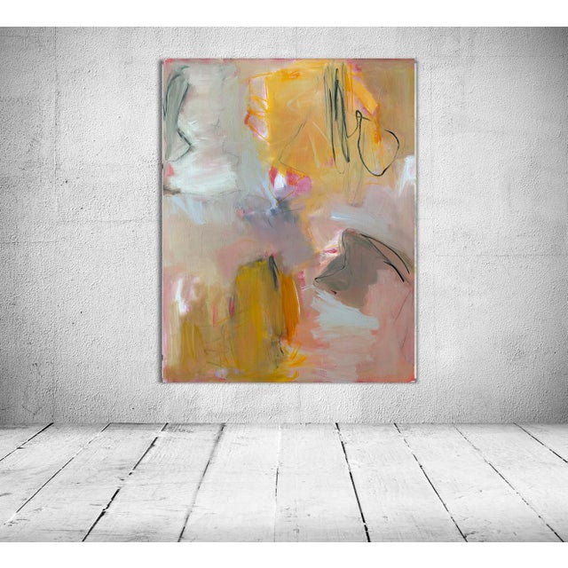 """""""Sirocco"""" by Trixie Pitts XL Abstract Expressionist Oil Painting For Sale - Image 11 of 13"""