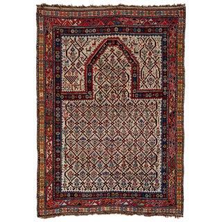 Shirvan 19th Century Caucasian Rug - 3′11″ × 5′6″ For Sale