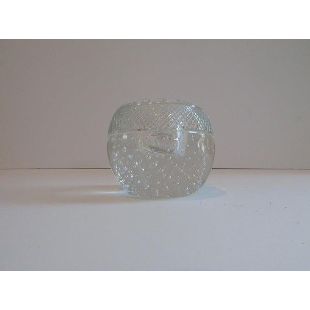 Transparent Antique Glass Match Striker For Sale - Image 8 of 8