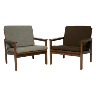 Wikkelso for Ellersen Rosewood #4 Chairs - A Pair For Sale