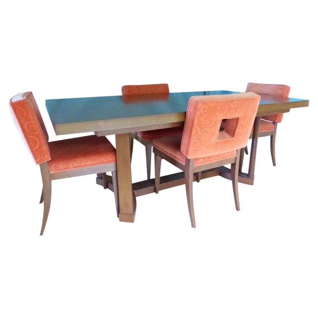 Mid-Century Modern Dining Set - Image 1 of 11