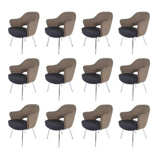 Eero Saarinen for Knoll Executive Armchairs - Set of 12 For Sale