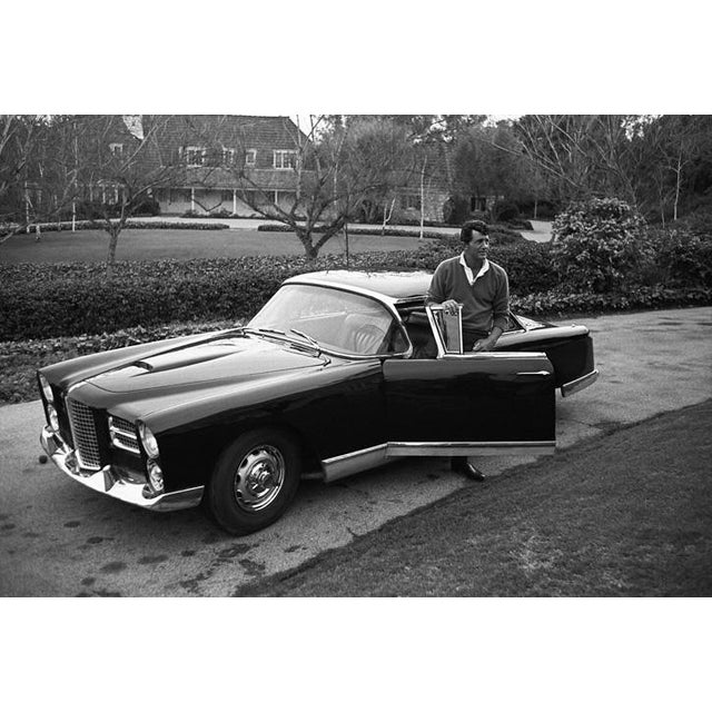 1960s Dean Martin and His Facel Vega Hk500 1961 For Sale - Image 5 of 5